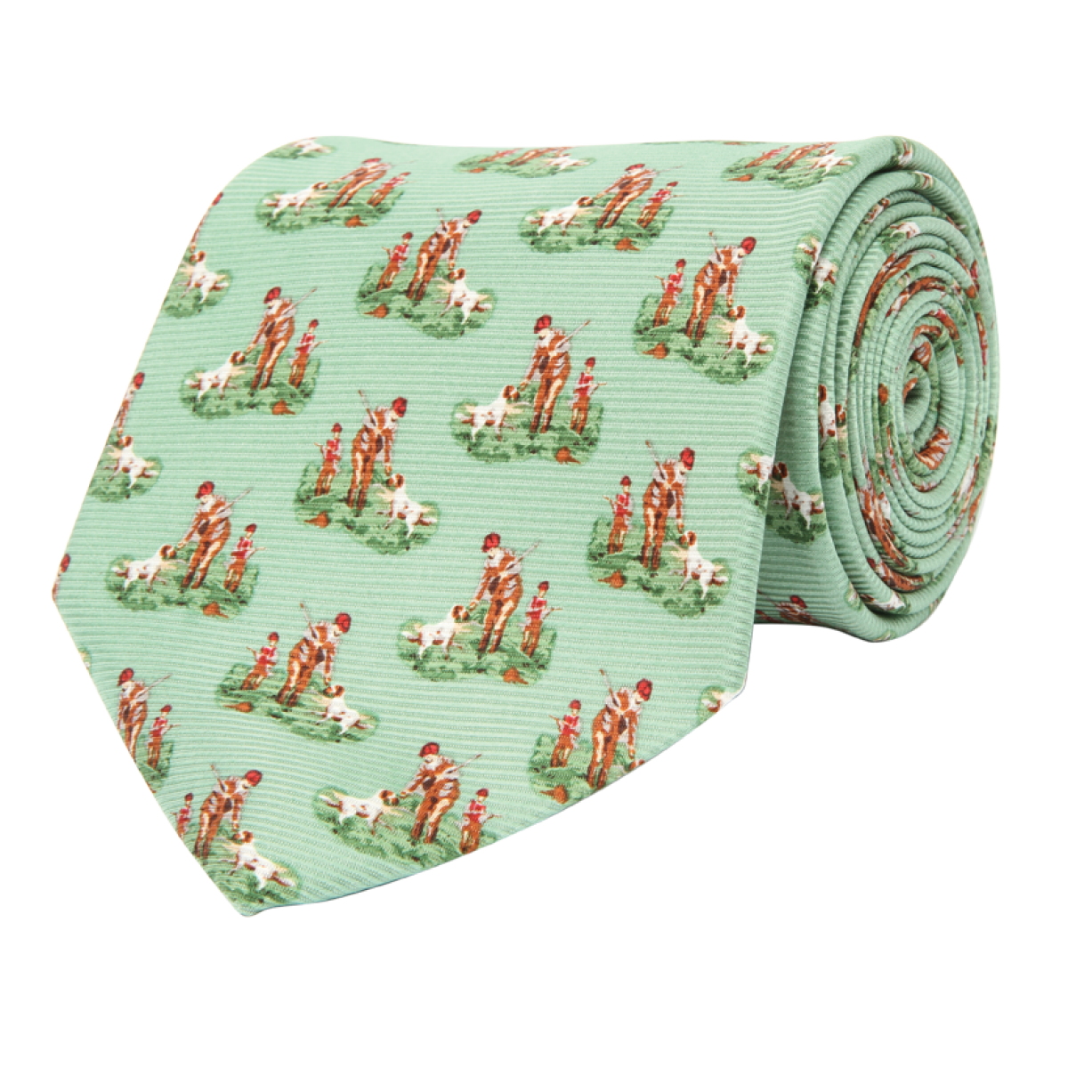 Wm. Lamb & Son - Hunter & Son Tie - Green